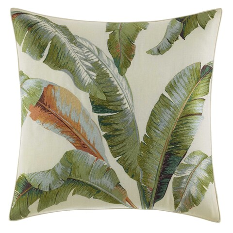 Tommy Bahama Palmiers Palm 20-inch Pillow