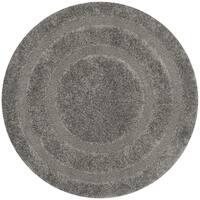 Safavieh Shag Grey/ Grey Rug - 5' Round