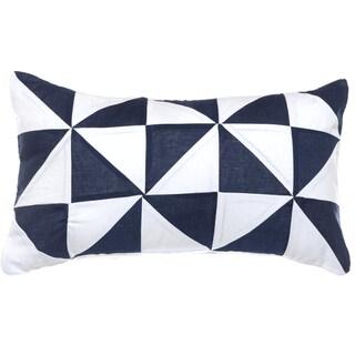 Nautica Lawndale Pinwheel Throw Pillow