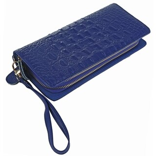 MKF Collection by Mia K. Farrow Eve Genuine Leather Wristlet Wallet