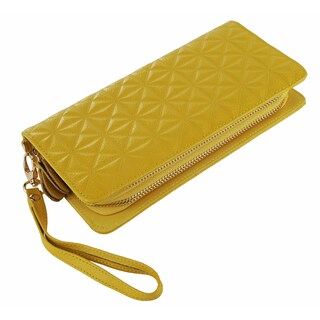MKF Collection by Mia K. Farrow Marilyn Wristlet Wallet (Option: Yellow)