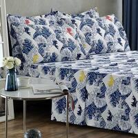 Fuji Flannel Sheet Set