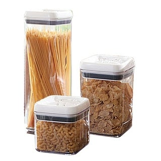 6 Piece Air tight stacking food container set with lid set