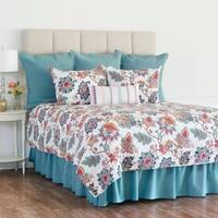 Aurora Floral Cotton Quilt Set