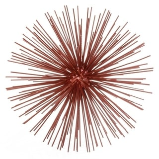 Erizo Spiked Medium Red Sphere