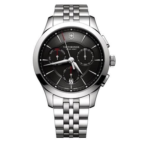 Swiss Army Men's V241745 'Alliance' Black Dial Chronograph Watch