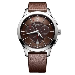 Swiss Army Men's V241749 'Alliance' Brown Dial Chronograph Watch