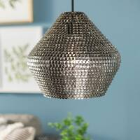 12-inch Crown Sparkle Pendant Light