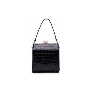 MKF Collection by Mia K. Farrow Fany Evening Handbag and Cross body (Option: Black)