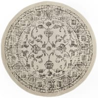 """Home Dynamix Vintage  (6'6"""") Round Persian Area Rug"""