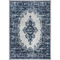 Home Dynamix Grey/Ivory Vintage Oriental Area Rug - 9'2 x 11'8