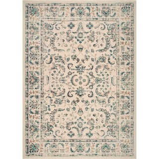 "Home Dynamix Vintage Ivory (26""x47"") Traditional Area Rug Scatter"