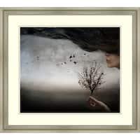Framed Art Print 'Autumn Mood' by Elisaveta Jordanova 26 x 24-inch