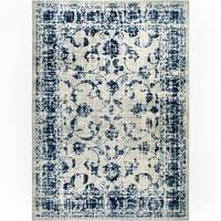 """Home Dynamix Vintage Gray-Blue (26""""x12'8"""") Persian Area Rug Runner"""