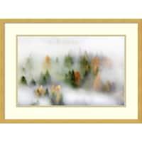 Framed Art Print 'Autumn Dream' by Kristjan Rems 25 x 18-inch