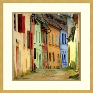 Framed Art Print 'Colors' by S.c. 25 x 25-inch