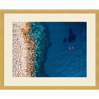 Framed Art Print 'From Above Ii' by Antonio Carrillo Lopez 21 x 17-inch