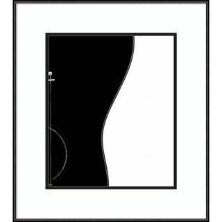 Framed Art Print 'Guitar' by Wagdi Kala 20 x 23-inch