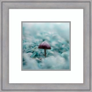 Framed Art Print 'I'm So Cold ' by Maxime Dugenet 22 x 22-inch