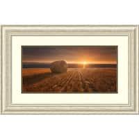 Framed Art Print 'Gold Harvest' by Marcin Krakowski 32 x 21-inch