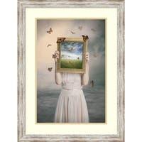 Framed Art Print 'Set Them Free' by Baden Bowen 22 x 29-inch
