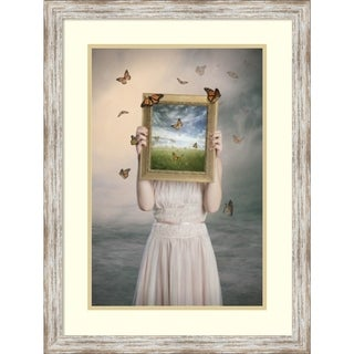 Framed Art Print 'Set Them Free' by Baden Bowen 22 x 29-inch