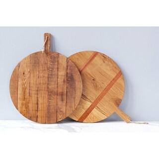 Oak Round Charcuterie Board