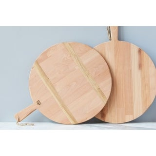 Beech Medium Round Charcuterie Board