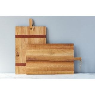 Oak Rectangle Charcuterie Board