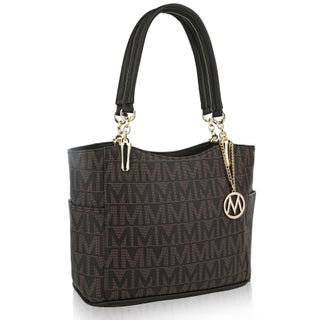 "MKF Collection by Mia K. Farrow Braylee ""M"" Signature Tote"