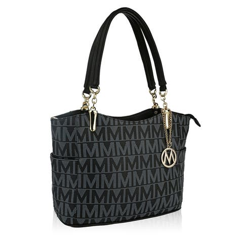 d1839c32439d Buy Black Tote Bags Online at Overstock | Our Best Shop By Style Deals