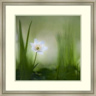 Framed Art Print Alone by Piet Haaksma