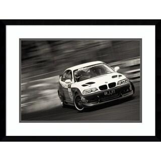Framed Art Print 'Dr 1 Ft Car' by Chongky