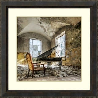 Framed Art Print 'In Heaven Piano' by Mario Benz