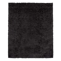 Beaufort Comfort Dark Grey Shag Rug (7'10 x 10'4)
