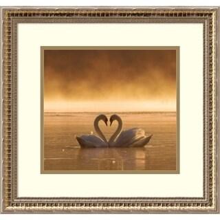 Framed Art Print 'Lovers' by Fproject - Przemyslaw