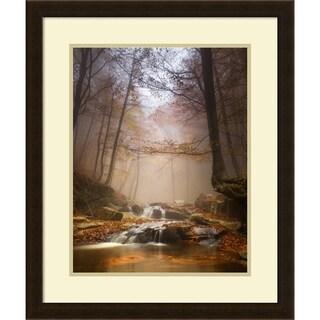 Framed Art Print 'Mistyc Mist' by Ramon Menendez Covelo