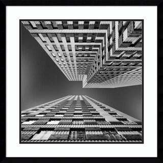 Framed Art Print 'Symphony' by Jeroen van de
