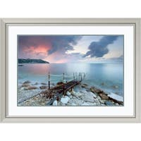 Framed Art Print 'Path To The Light' by Claudio Coppari 40 x