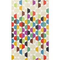 Palm Canyon Pajaro Modern Multicolor Geometric Area Rug - 8' x10'
