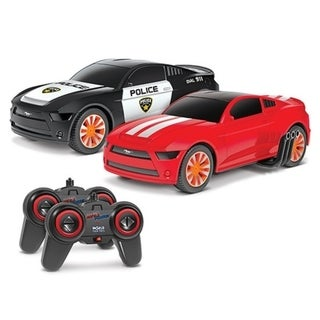 Link to 1:20 Officially Licensed Ford Mustang Battle Pursuit Flip Action RC Cars Double Pack Similar Items in Remote Control Toys