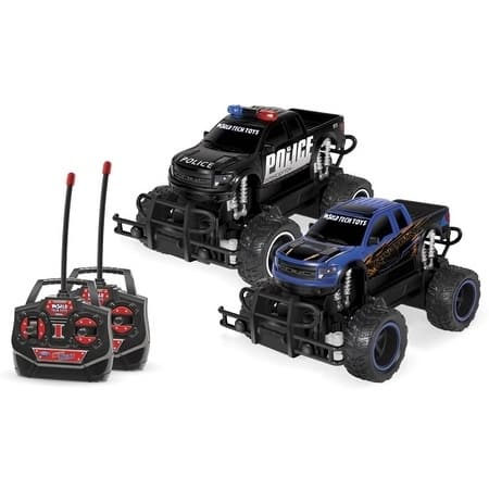 Ford F-150 SVT Raptor Police Pursuit 1:24 RTR Electric RC Monster Truck Double Pack