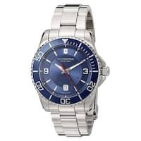 Victorinox Men's V241706 'Maverick' Blue DialSwiss Automatic Watch