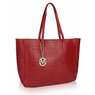 MKF Collection by Mia K. Farrow Sadie Back to Work Tote (Option: Red)