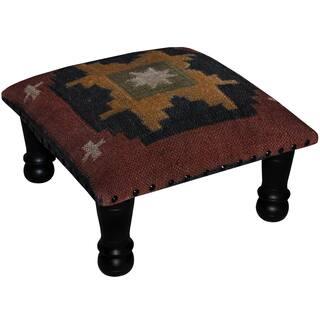 Safavieh Southwest Viscose Footstool Bench Free Shipping