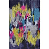 Carbon Loft Bowie MultiColor Modern Abstract Area Rug - 8' x 10'