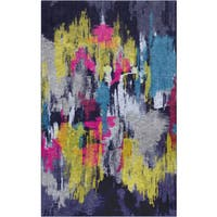 Carbon Loft Bowie Multicolor Modern Abstract Area Rug - 8' x10'