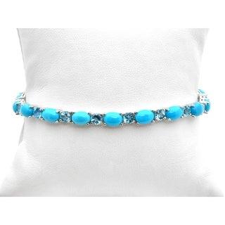 Pagnea Mines Sleeping Beauty Turquoise Topaz Bracelet