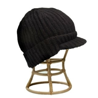Ribbed Visor Hat