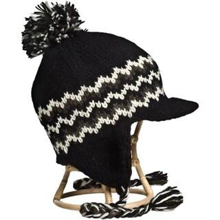 Jockey Pom Pom Hat